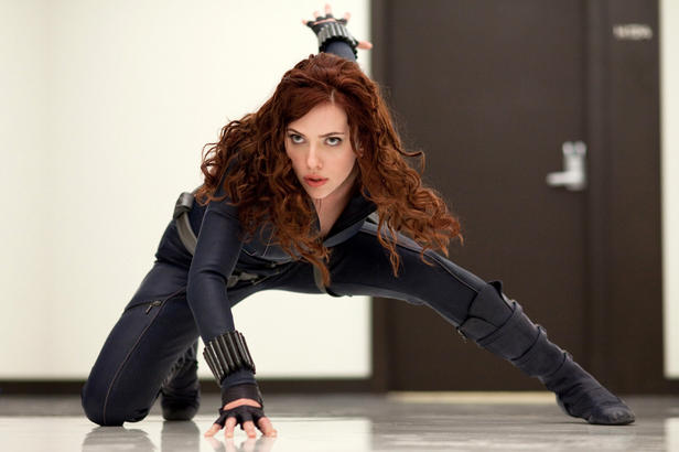 Iron Man 2 Scarlett Johansson - Black Widow - Viuda Negra