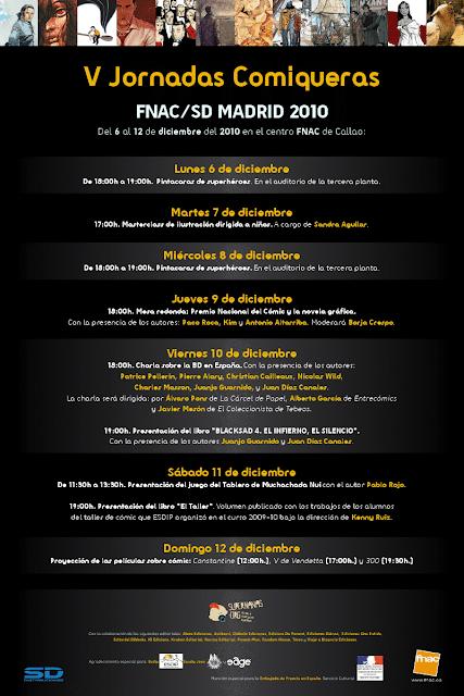 V JORNADAS COMIQUERAS FNAC/SD 2010 - 1