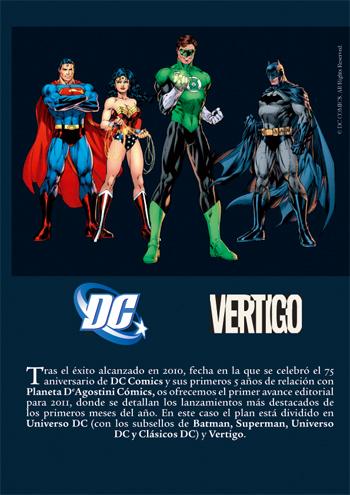 Avance novedades DC/Vertigo
