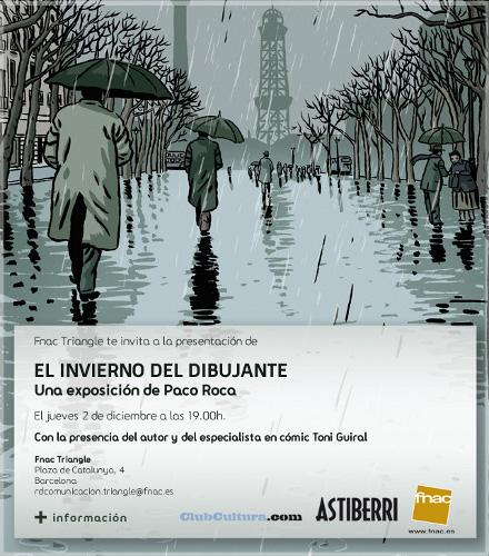 Exposición - El invierno del dibujante - Paco Roca