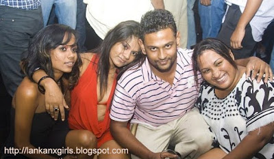 night club girls with VIP