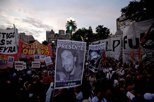"""Mariano Ferreyra: """"Quieren demorar el juicio"""""""