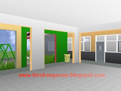 Desain Bangunan Gedung Taman Kanak Kanak Penataan  Share The Knownledge
