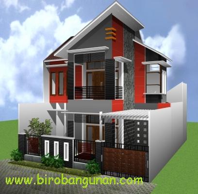Jasa Desain Rumah on Desain Rumah Bpk Hartono   Desain Rumah Minimalis Berlantai 2   Sm