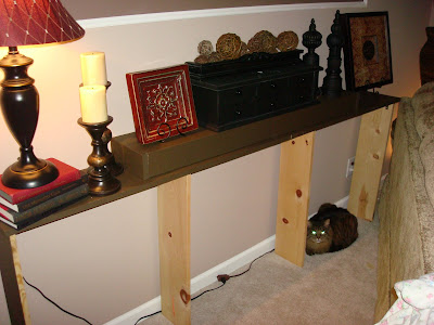 Make A Sofa Table For Under 20 For Real From Thrifty