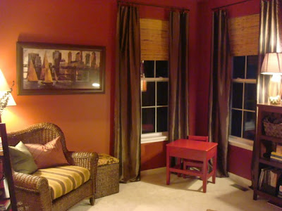 Fired brick favorite paint colors blog for Pumpkin spice paint living room