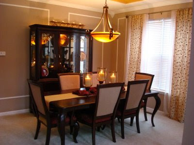 A dining room reveal from thrifty decor chick for Dining room conversion ideas