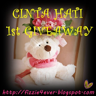 CINTA HATI 1st GIVEAWAY