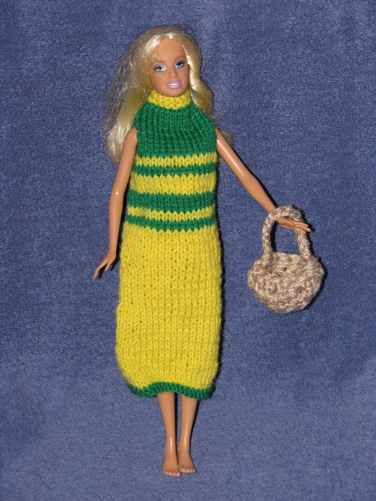 Barbie Collector Dolls: Free Crochet Doll Dress Patterns