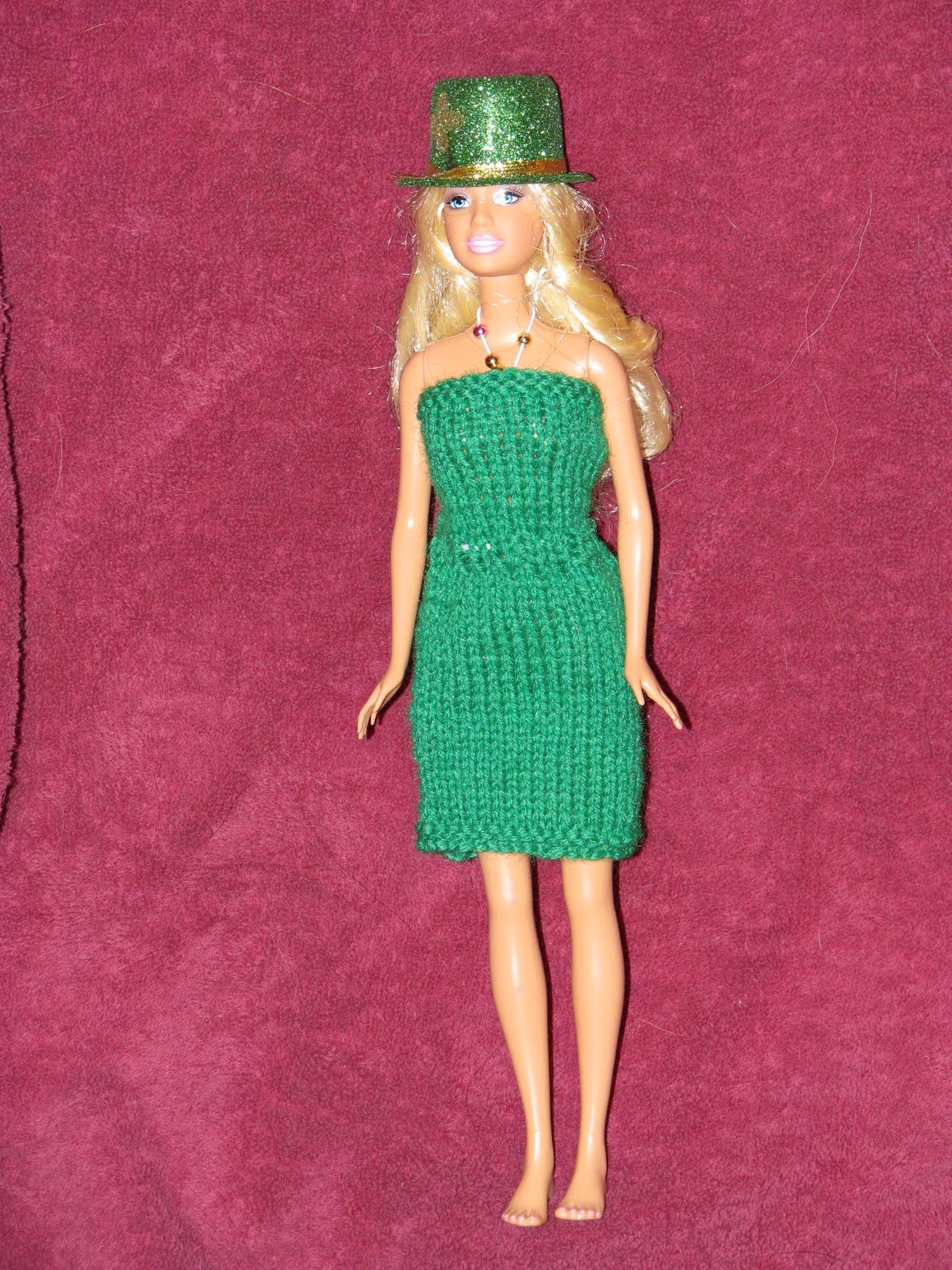 Craft Attic Resources Barbie And Fashion Doll Free Knitting Patterns