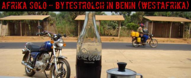 AFRIKA SOLO - Bytestrolch in Benin (Westafrika)