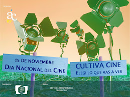 Día Nacional del Cine  - 15/11/09 en todo el país