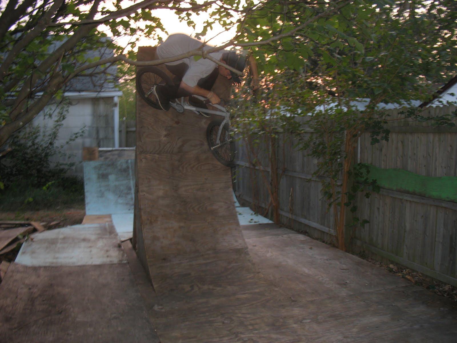 rva bmx backyard ramp