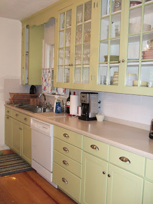Namesake design good bye dark kitchen for Better homes and gardens painting kitchen cabinets