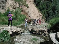Tornen els carreters a la serra de Montserrat