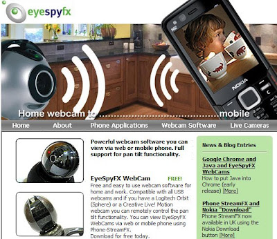 eyespyfx Descargar EyeSpy FX Webcam para Celulares