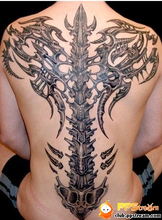 tribal tattoos for guys. hot Tribal Cross Tattoos For