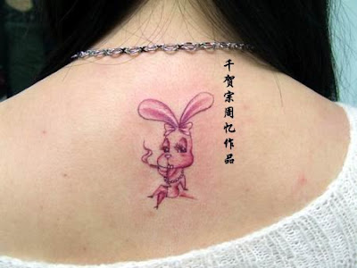 bunny free tattoo design
