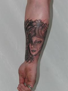 exotic girls tattoos