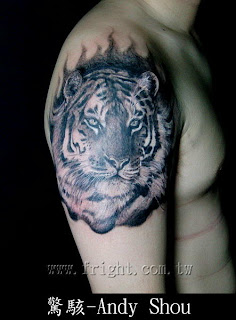 tiger tattoo designs on the arm