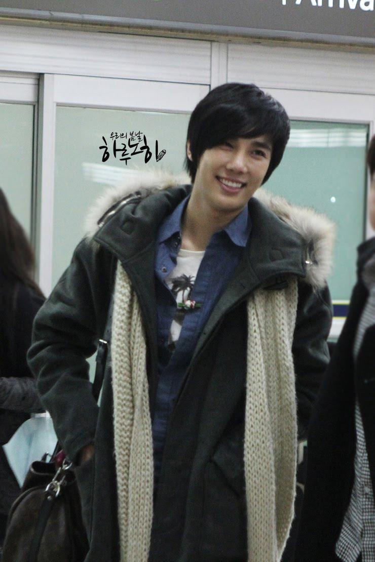 Jung Min De nuevo en Seúl en la víspera de Navidad 4