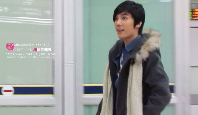 Jung Min De nuevo en Seúl en la víspera de Navidad 8
