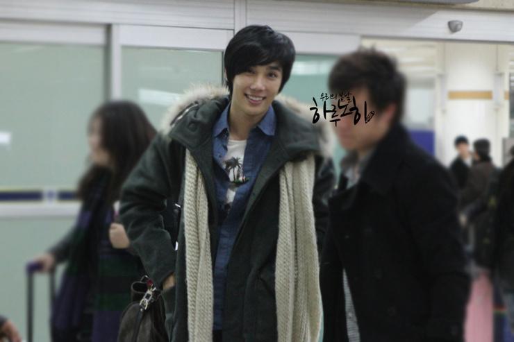 Jung Min De nuevo en Seúl en la víspera de Navidad 3