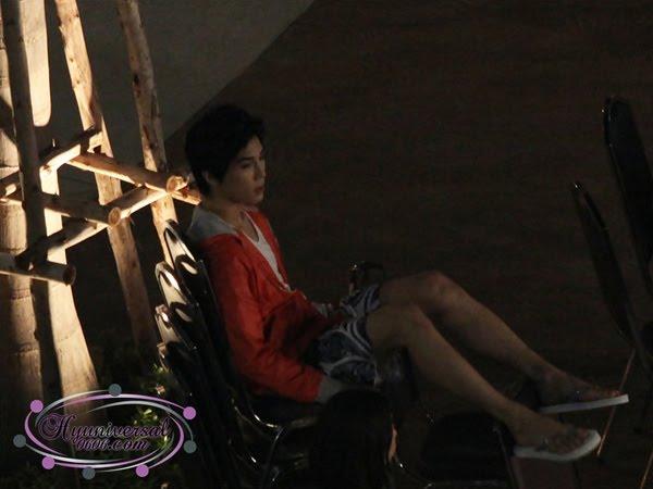 Jung Min @ SBS Año Nuevo Lunar Especial de rodaje en Tailandia 11