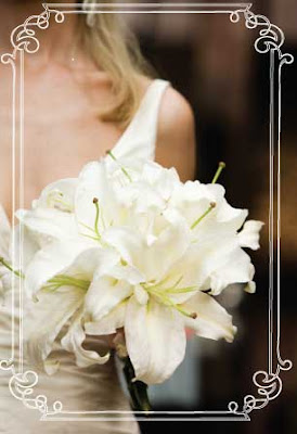 White Lily Wedding Bouquet | Wedding Flower Photos