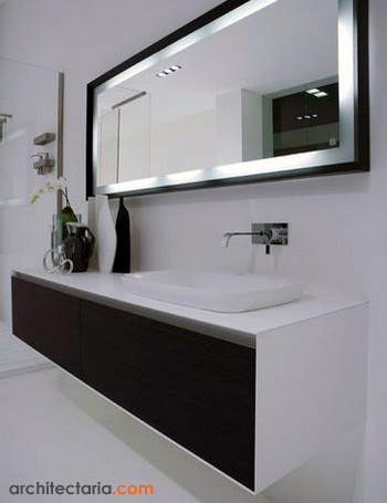 ARCHITECTURE: Interior Design Tips: Decorative Bathroom Mirror Ideas