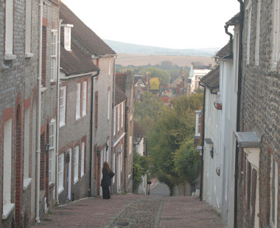 Keere Street, Lewes, East Sussex, UK