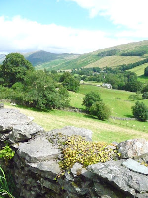 View in British Lake District near Windermere
