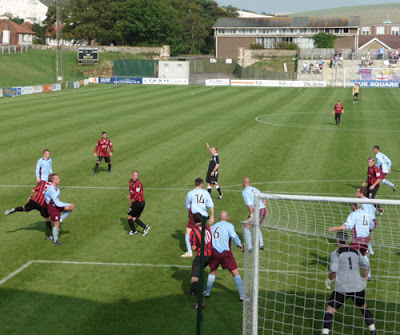 action at the Dripping Pan, Lewes