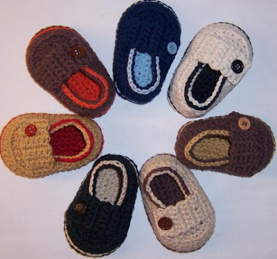Crochet Pattern Central - Free Baby Booties and Mittens Crochet