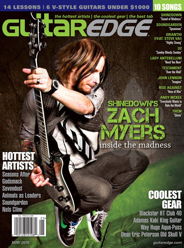 The Ones That Got Away Hey Were Featured In Guitar Edge Magazine