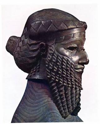 Head Of An Akkadian Ruler Random: The Ancient Ne...