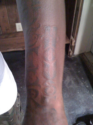 Crooked I's new Slaug(h)ter House Tattoo. Posted on July 27,