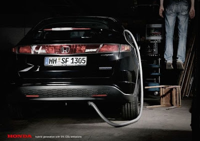 Honda no suicide. funny advertising