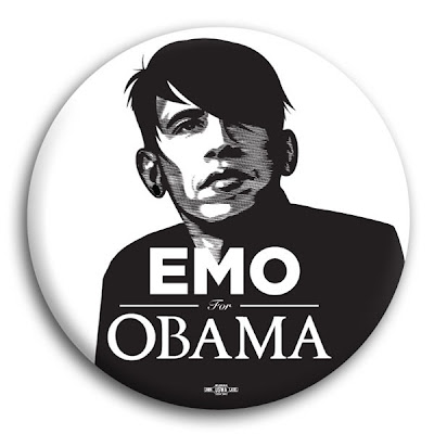 emo obama funny picture