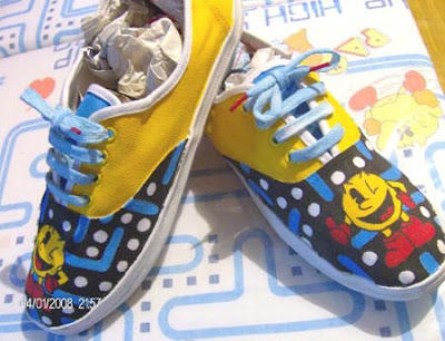 pac man retro shoes