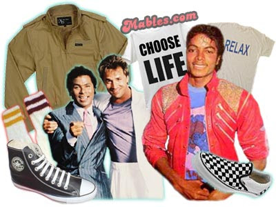 Fashion on Labels  80 S   Mens   Retro Clothing