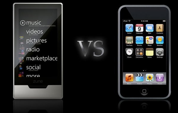 ipod touch 2g vs 3g. HD Vs Apple iPod Touch ,