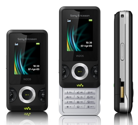 Sony Ericsson W205 User Guide Manual