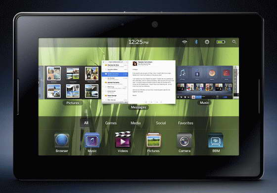 BlackBerry PlayBook Tablet Specifications