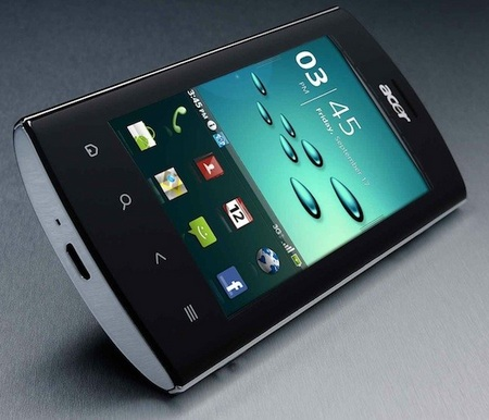 Acer Liquid Metal Android Smartphone Specifications and Features