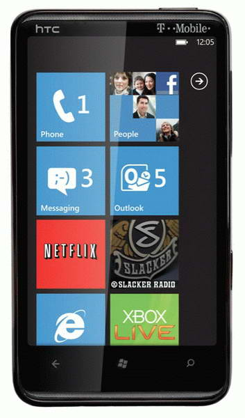HTC HD7 Windows Mobile 7 Smartphone