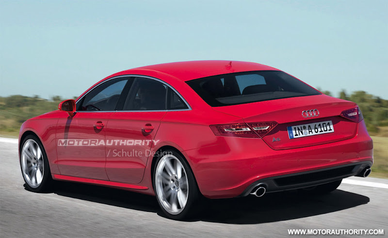 "2012 Audi A6 will comes in Sport version which will boast 19"" alloys,"