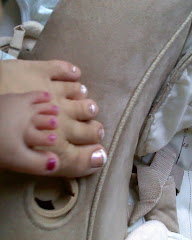Pedicure day with mommy...