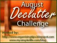 August Declutter Challenge