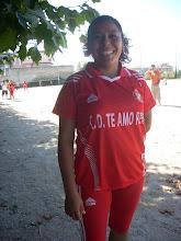 """del equipo  Voley Ball  peruano de Vigo """"Te amo Perú"""""""